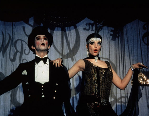 Joel Grey and Liza Minnelli in Cabaret