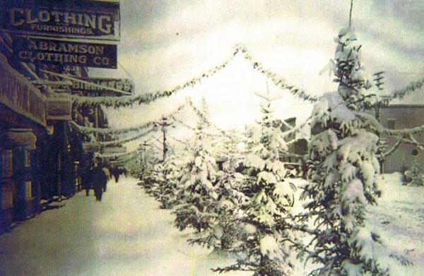 Rice Lake, WIsconsin, Christmas, 1926