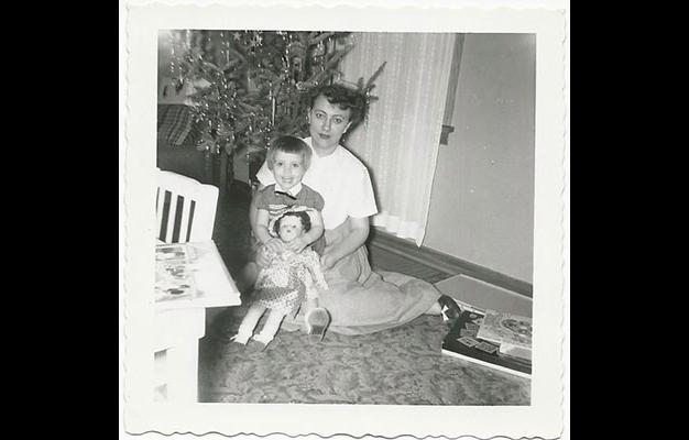 Vicki and mom