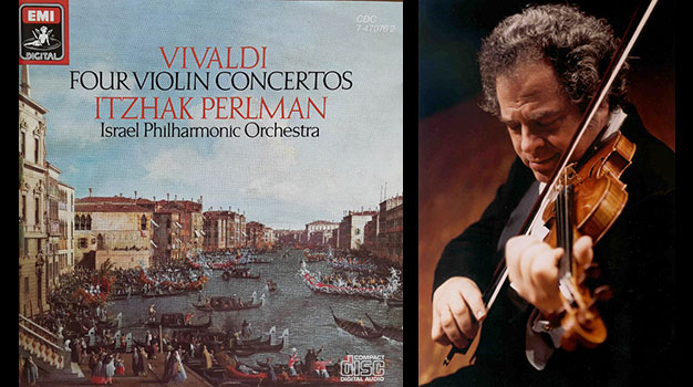 Itzhak Perlman, Vivaldi, Four Violin Concertos