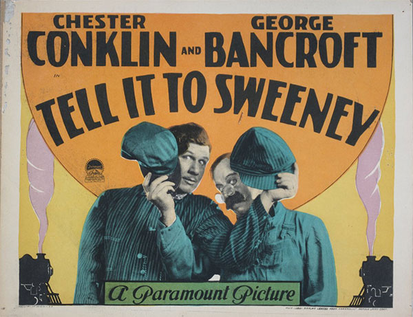 Tell It to Sweeney movie card