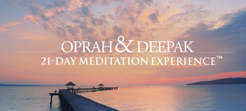 Oprah & Deepak 21-Day Meditation Experience