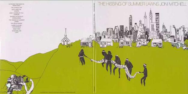 The Hissing of Summer Lawns, Joni Mitchell