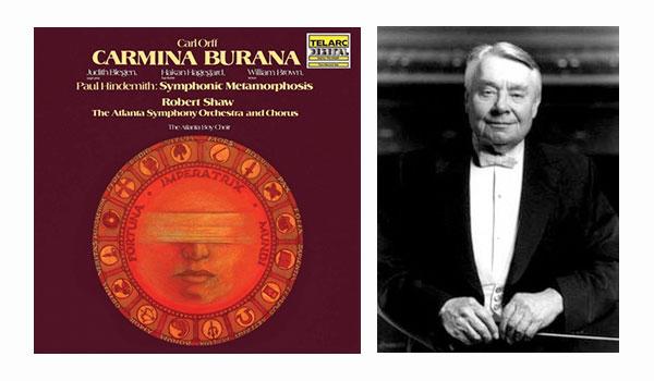 Carmina Burana, Robert Shaw