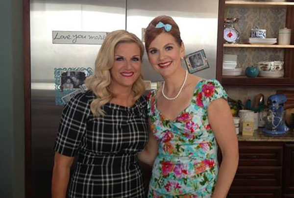 Trisha Yearwood and her sister Beth