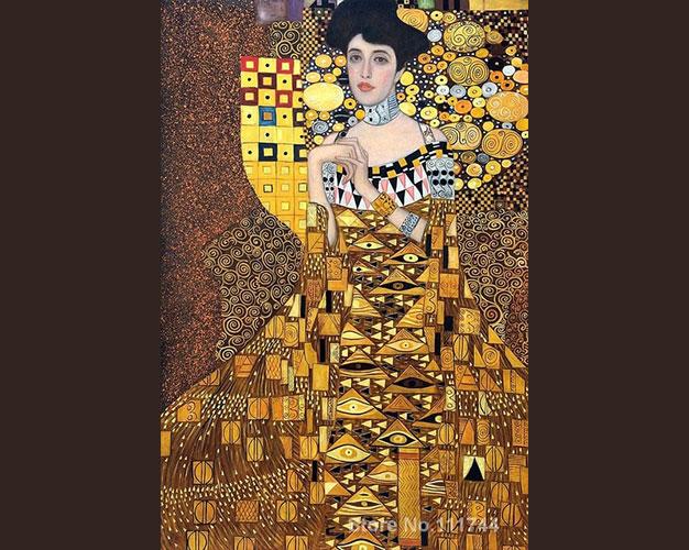 Portrait of Adele Bloch Bauer, Gustav Klimt