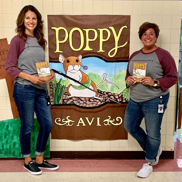 One Stateliner Story in Phillipsburg, NJ features Poppy by Avi